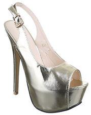 Scarpa donna tacco alto cm 15 donna scarpa plateau cm 4 scarpa spuntata cinturin