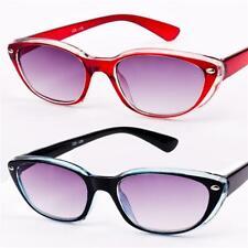 Womens Girls Ladies Vintage Designer Fashion Cat Eye Sun Readers Sunglasses R82