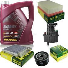 CAMBIO Olio Set 5l MANNOL ENERGY COMBI LL 5w-30 Uomo ispezione Service 10050202