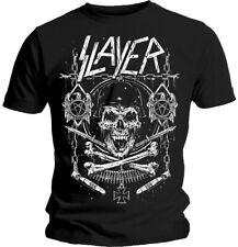 Slayer 'Skull & Bones's T-Shirt-Nuevo Y Oficial!
