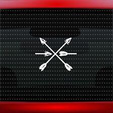 Peace & Friendship Native American Car Decal Window Sticker Arrow (20 COLORS!)