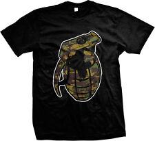 SALE Grenade Hand Proud American Patriot Gift T-shirt