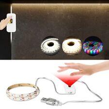 5V USB Ribbon Motion Sensor LED Tape Hand Sweep Sensor LED Strip 1/2/3/4/5M