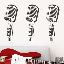 Microphone stencil retro reusable stencils art painting craft airbrush decor etc