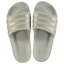 da8633d51cd1 NEW 2019 Adidas Duramo Sliders Flip Flops Grey  SIZES 4-8 LIMITED ED