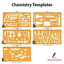 Laboratorio di chimica INGEGNERIA CHIMICA modello di disegno di simboli di disegno stencil