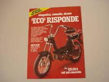 advertising Pubblicità 1979 GILERA ECO 50
