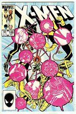 X-Men #188 (1984 vf/nm 9.0) by Claremont & John Romita Jr + Dan Green