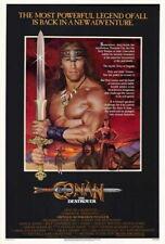 70740 Conan the Destroyer Arnold Schwarzenegger Grace FRAMED CANVAS PRINT Toile