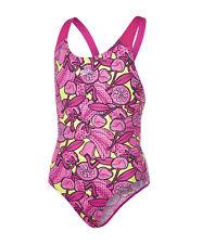 Speedo Comet Crush Allover Splashback Girls Swimsuit