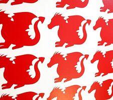 Dragon Muro ARTE Vinile Decalcomanie/Adesivi-Vari colori e dimensioni Galles Gallese