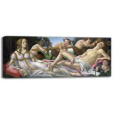 Botticelli Venere e Marte design quadro stampa tela dipinto telaio arredo casa
