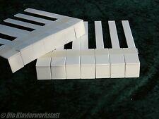 Klavier Flügel Beläge Tasten Kunststoff  Klaviaturbeläge Fronten neu