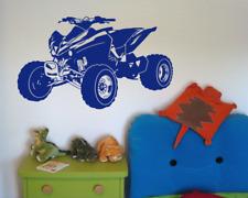 Wandtattoo Quad Wandaufkleber ATV Kinderzimmer XXXL  25 Farben und 10 Größen