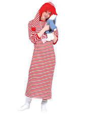 CLOWN striped SHIRT long  mens halloween costume STD