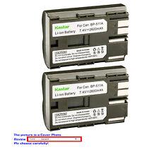 Kastar Replacement Battery for Canon BP-511 BP511A BP-508 BP-512A BP-522 BP-535