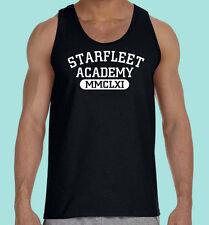 Black Tank Top, Sifi Motion Picture, TV, Starfleet Academy, Unisex, Gildan