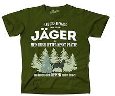 T-Shirt OLIVE JÄGER IRISH SETTER Plätze an  niemand findet Siviwonder