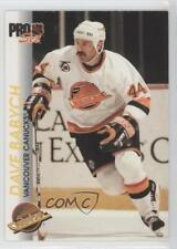 1992-93 Pro Set #200 Dave Babych Vancouver Canucks Hockey Card