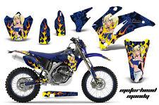 AMR RACING MOTORCYCLE OFF ROAD GRAPHIC MX KIT YAMAHA WR 250 450 F 07-12 MMUBGK
