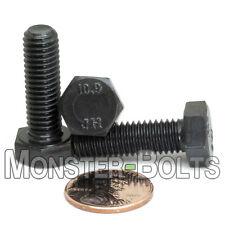 M8 - 1.25 Hex Cap Bolts / Screws, 10.9 Alloy Steel Coarse Metric Tap DIN 933 931