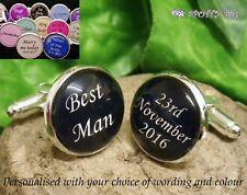 4 PER 3 PERSONALIZZATO Gemelli giorno del matrimonio, compleanno CERVO Best Man
