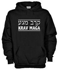 Felpa con cappuccio Krav Maga KJ781Arti Marziali Israel combat Army Esercito