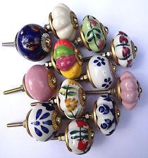 Porcelaine Céramique Poignées Boutons placard cuisine et Garde-robe Porte - 12