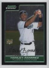 2006 Bowman Chrome #204 Hanley Ramirez Miami Marlins RC Rookie Baseball Card