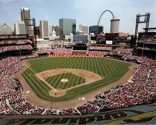 St. Louis CARDINALS Busch STADIUM & The ST. LOUIS ARCH Custom LAB 8X10 NEW L@@K!