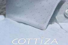 COTTIZA - 2 Ply 100% Egyptian Cotton Mens Business Formal Dress Shirt