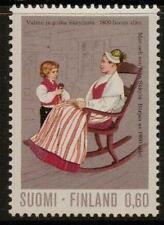 FINLAND SG831 1972 60p MOTHER & SON  MNH