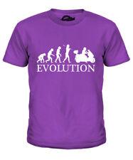 SCOOTER Evoluzione dell'Uomo Ragazzi T-Shirt Tee Top Regalo Stunt