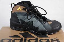 fa9fa542568 Adidas Hombre Botas de Montaña A3 Cuero Verde Marrón Negro 078433A3 Nuevo