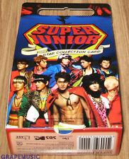 SUPER JUNIOR SuperJunior STAR COLLECTION CARD SEALED