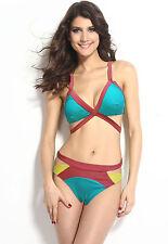 Costume Da Bagno Strappy Cutout Bikini string slim sling Swimwear Swimsuit
