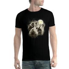 Wölfe Heulen Vollmond Herren T-shirt XS-5XL Neu