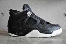 "Nike Air Jordan 4 Retro Premium ""Pinnacle"" Pony Hair - Black/Black-Sail"