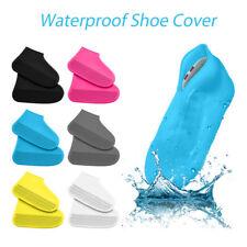 Adult Kids Reusable Waterproof Shoes Cover Anti-slip Wear-resistant Rain Boots