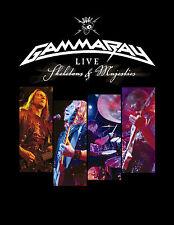 GAMMA RAY - Live-Skeletons & Majesties 2 DVD  (HELLOWEEN , PRIMAL FEAR )