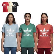 Adidas Originals Trefoil Tee Mujer Camiseta Camiseta Camiseta de Manga Corta