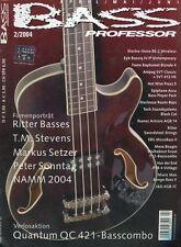 Bass Professor # 2004 2 Ritter Basses, T.M. Stevens, Markus Setzer, Mesa Boogie