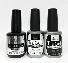 EZFlow TruGel - 100% Gel LED UV Nail Polish 0.5oz- Choose any Bond/Base/ Top