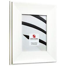 Craig Frames Atlas, 3.25 Inch Wide White Picture Frame Poster Frame