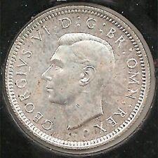 1943 AU Great Britain Six Pence #1