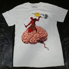 Marvel Comics Deadpool Brain Wade Graphic T-Shirt S M L XL