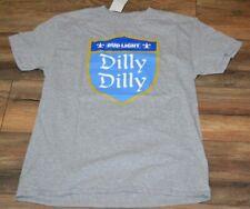 Villanova Wildcats Bud Light Villy Dilly Parody Funny Jersey Tee Shirt Men S-5XL