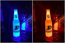 NHL Anaheim Ducks 12 oz Beer Bottle Light LED Neon