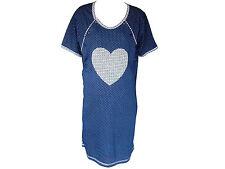 Maternity Pregnancy Breastfeeding Nursing Nightdress Nightwear 100% Cotton