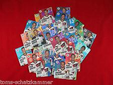 REWE DFB WM 2014 Auswahl Glitzer-Karten = Sammelkarten Sticker WC 14 auswählen